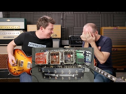 That Pedal Show – Dod Gonkulator, EHX Pog 2, EHX B9 & C9, Digitech Synth Wah. Oh dear...