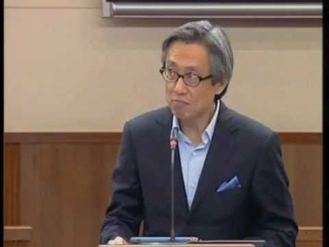 Ministerial Salary Debate, Parliament, Jan 16 2012 - Chen Show Mao