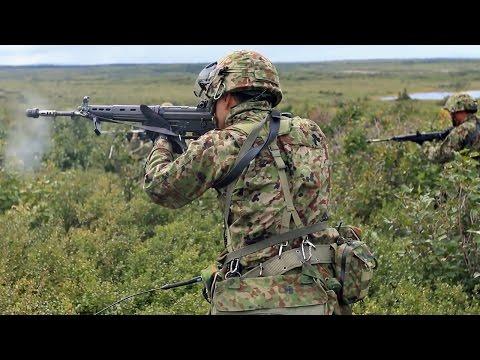 陸上自衛隊・第1空挺団 アラスカで空挺作戦訓練 - JGSDF 1st Airborne Brigade, Airborne Training in Alaska