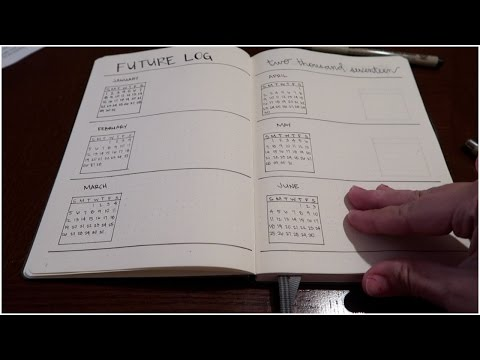 MY FIRST BULLET JOURNAL! - January 11, 2017