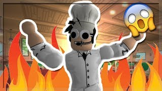 HE SET MY KITCHEN ON FIRE! DARE TO COOK IN ROBLOX!