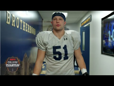 Navy Football Player Leans On Team After Family Tragedy | College GameDay