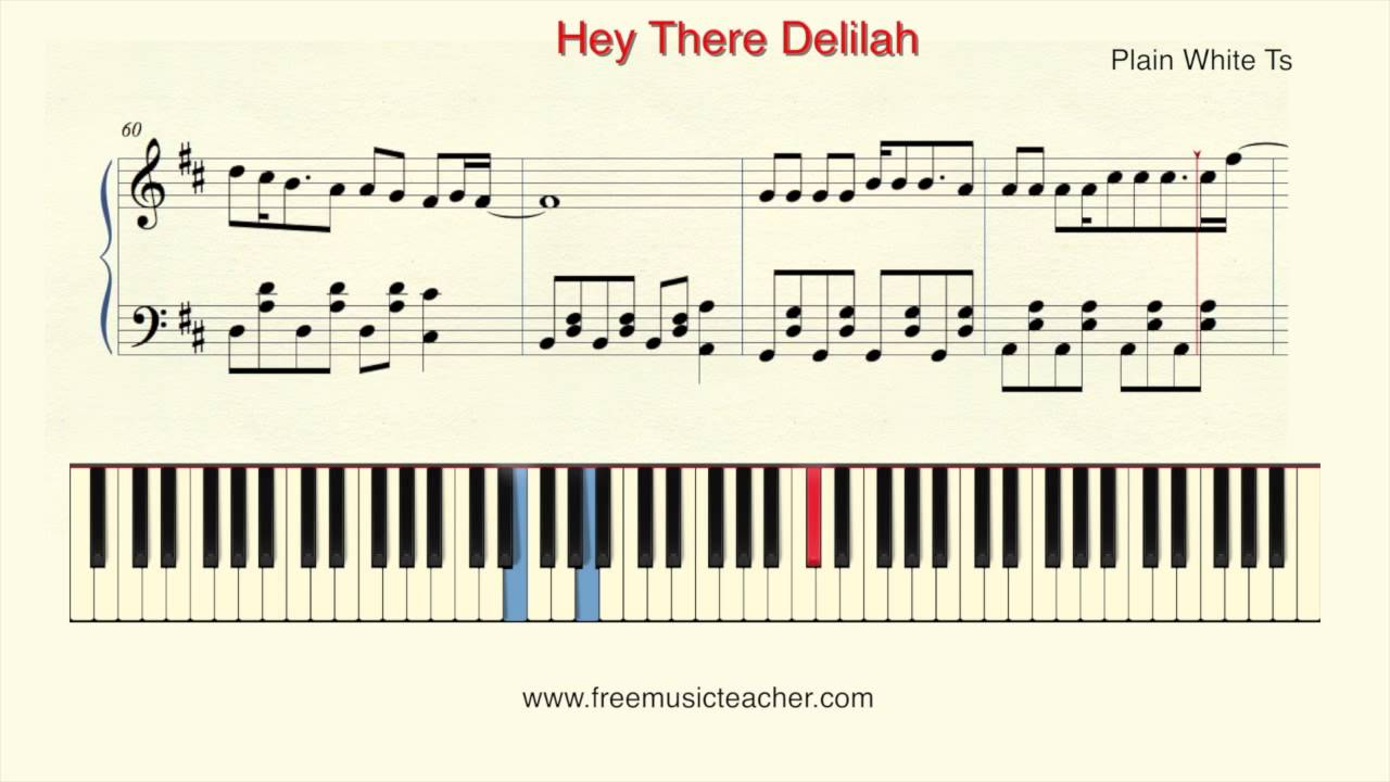 How to play piano plain white ts hey there delilah piano how to play piano plain white ts hey there delilah piano tutorial by ramin yousefi hexwebz Images