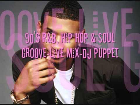 90s R&B Hip Hop & Soul Groove  Mix Dj Puppet
