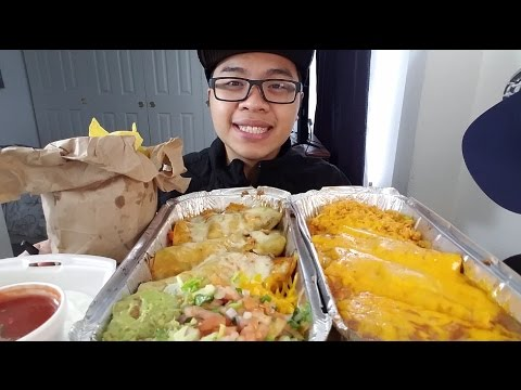 MUKBANG: TRYING MEXICAN FOOD (BLIND ORDERING!) | Eating Show | JaySMR