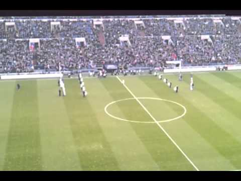 Schalke Hoffenheim 3:0. Einmarsch