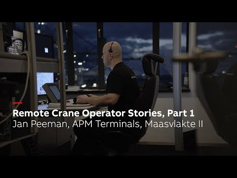 Remote crane operator stories, Part 1: Jan Peeman, APM Terminals Maasvlakte II