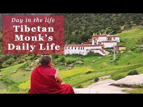 Tibetan Monk: A