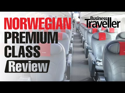 Norwegian Premium Cabin Flight Review - London to New York