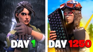 My 1,250 Day Fortnite Controller to Keyboard Progression...(BAD to CHAD)