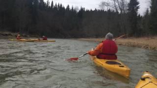 Spływ Górnym Sanem 25.03.  2017