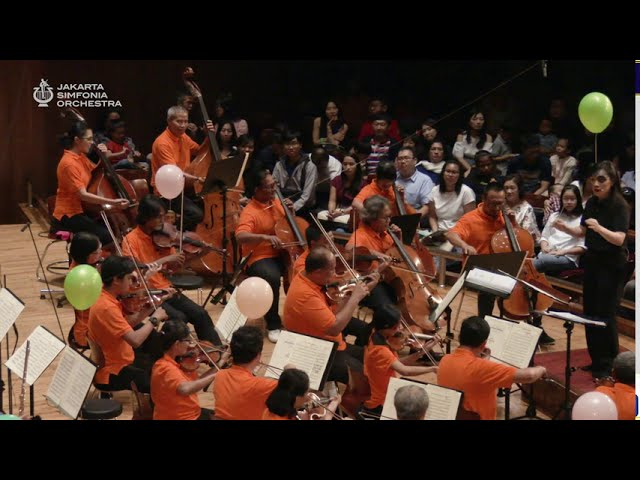 ANDERSON | The Syncopated Clock / Eunice Tong · Jakarta Simfonia Orchestra