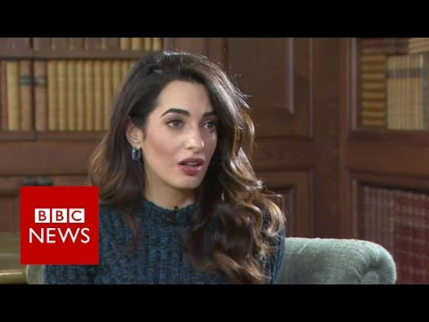 Amal Clooney: 'Yazidis in Iraq are IS genocide victims' - BBC News