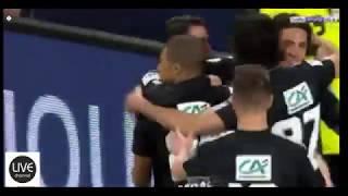SM CAEN VS PSG COUPE DE FRANCE 2018 ALL GOALS