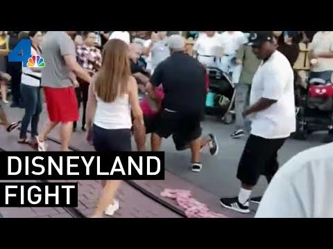 Man Who Intervened in Disneyland Fight Speaks | NBCLA