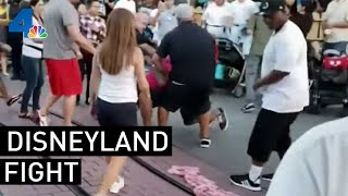 Man Who Intervened in Disneyland Fight Speaks | NBCLA