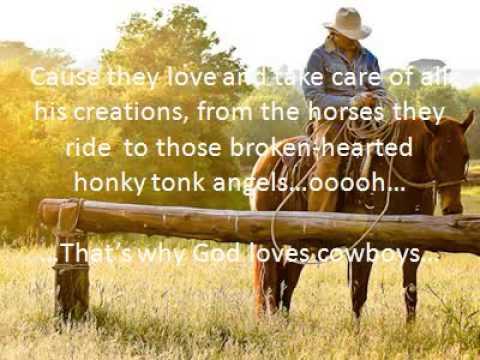 Aaron watson-That's why God loves cowboys (lyrics)