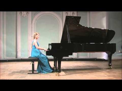 """F.Liszt Etude f-moll """"La leggerezza"""" Varvara Tarasova(piano)"""