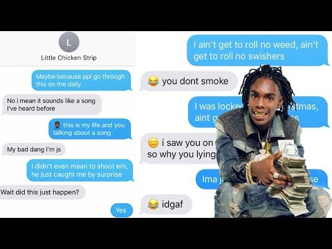 "YNW MELLY ""MURDER ON MY MIND"" LYRIC TEXT PRANK ON OLD CRUSH FROM COLLEGE!!!"
