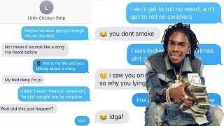 """YNW MELLY """"MURDER ON MY MIND"""" LYRIC TEXT PRANK ON OLD CRUSH FROM COLLEGE!!!"""