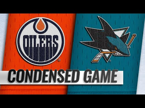 01/08/19 Condensed Game: Oilers @ Sharks