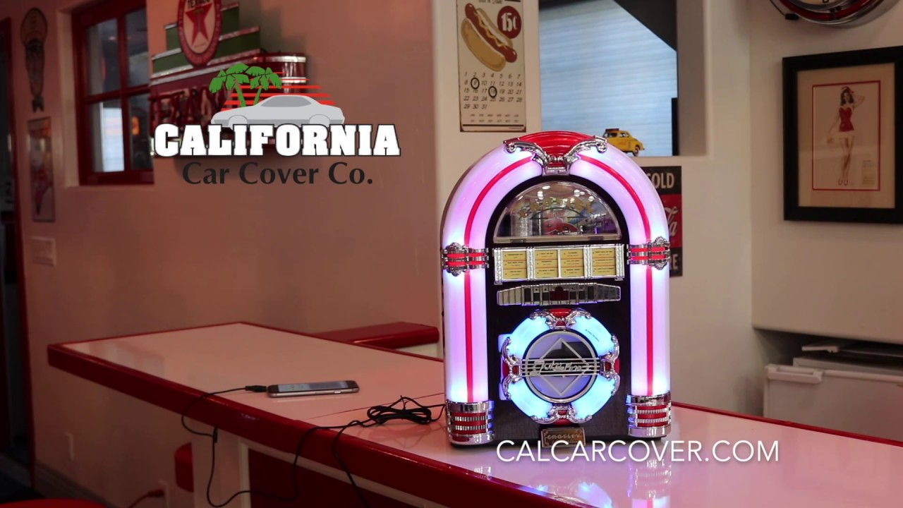 Crosley Counter Top Vintage Style CD MP3 Juke Box CR1101A-CH at California  Car Cover