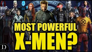 Who is the Most Powerful X-Men in FOX? | RANKING ALL 25 X-MEN