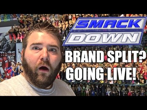 REACTION TO WWE BRAND SPLIT! SMACKDOWN GOES LIVE JULY 19TH 2016