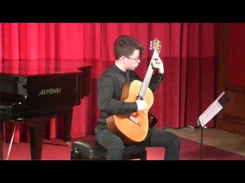 Giovani Musici 2017 - Alessandro Dominguez Farias, Chitarra