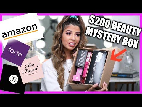 I BOUGHT $200 AMAZON BEAUTY MYSTERY BOXES
