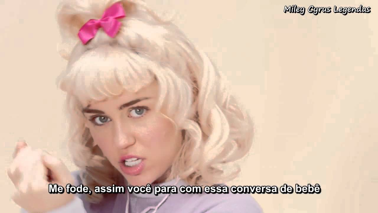 miley cyrus bb talk legendado ᴴᴰ youtube
