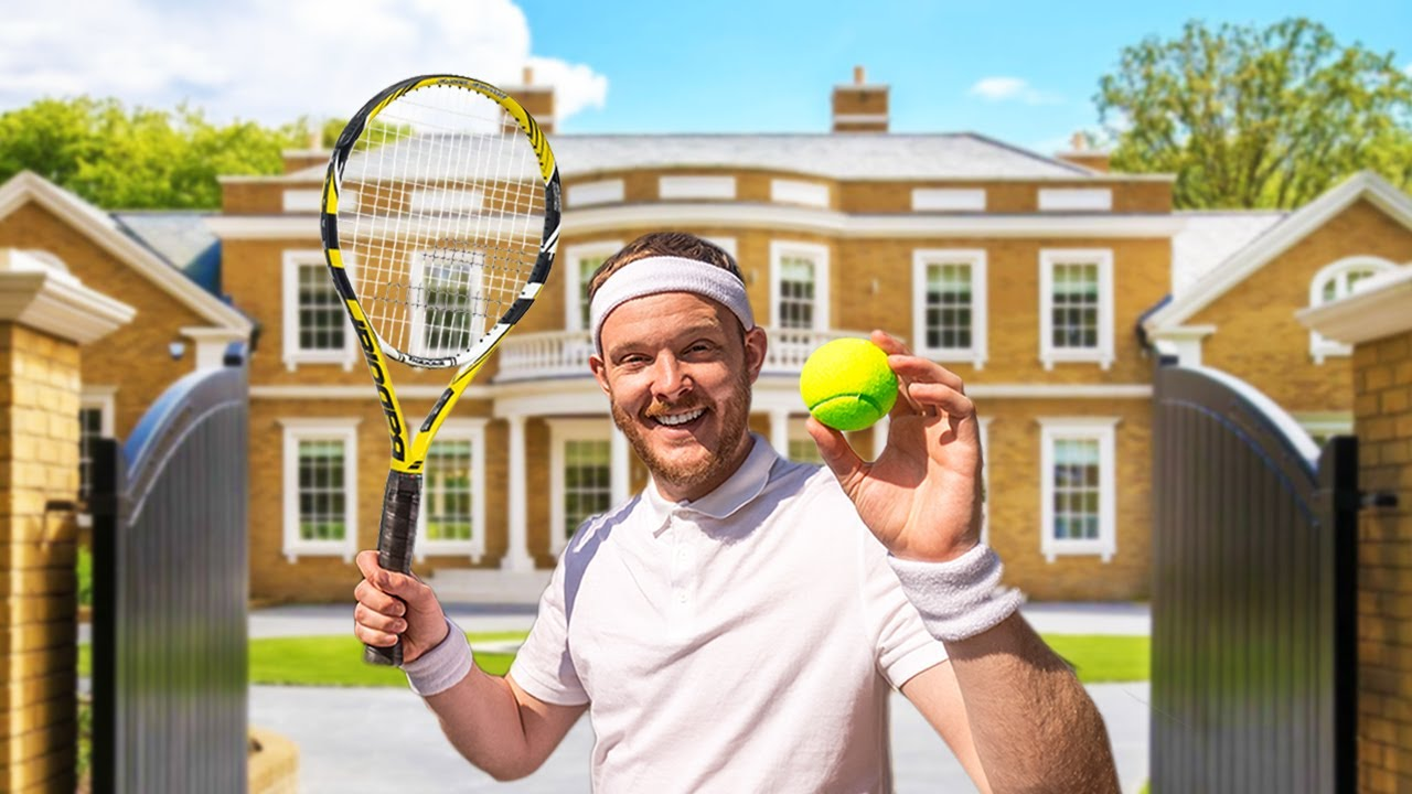 We Asked Millionaires to Play on their Private Tennis Courts (Wimbledon)