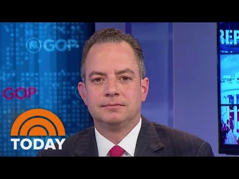 Donald Trump Chief Reince Priebus Defends Steve Bannon As 'Very Smart' And 'Temperate' | TODAY