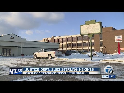 Federal government suing City of Sterling Heights over mosque build denial