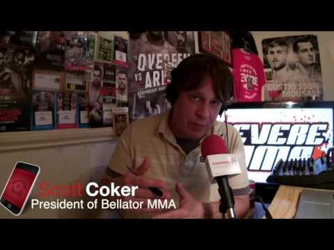 Scott Coker talks Bellator Dublin, free agency & lots more