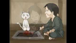 人の嫁になったネコ Bride of cat」日本昔話 恩返し話。 ネコが男に恩返...