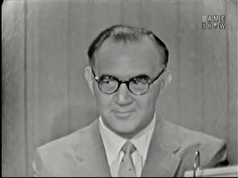 What's My Line? - Benny Goodman; Dana Andrews [panel] (Jul 6, 1958)