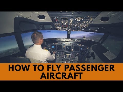 How to fly Boeing 737 passenger aircraft