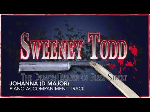 Johanna (D Major) - Sweeney Todd - Piano Accompaniment/Karaoke Track