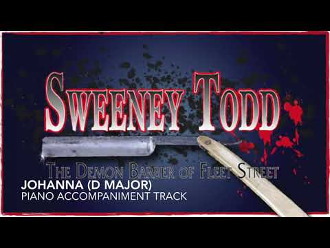 Johanna (D Major) - Sweeney Todd - Piano Accompaniment/Karaoke Track