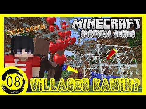 bikin-farm-villager!!---minecraft-survival-indonesia-#08