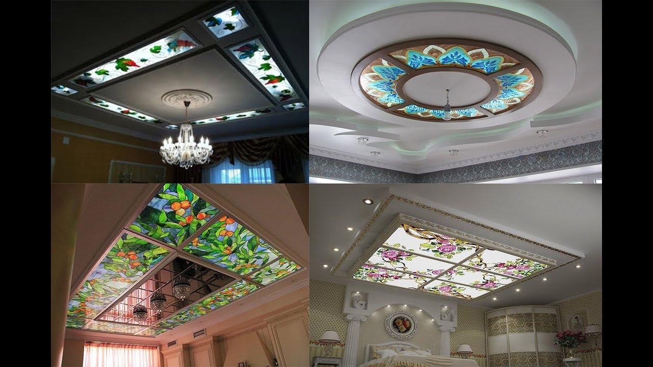 Gypsum False Ceiling Design P.O.P ceiling designs (AS ...