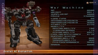 Rampaging with a War machine - Armored Core Silent Line (PS2)