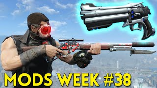 Fallout 4 TOP 5 MODS (PC & XBOX) Week #38 - KID RAIDERS, TACTICAL LEVER-ACTION, GAS MASKS