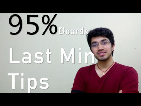 How to study for Class 12th Boards?| Last Min Tips| Mistakes to Avoid  | DPS RK Puram
