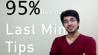how to study for class 12th boards   last min tips  mistakes to avoid   dps rk puram