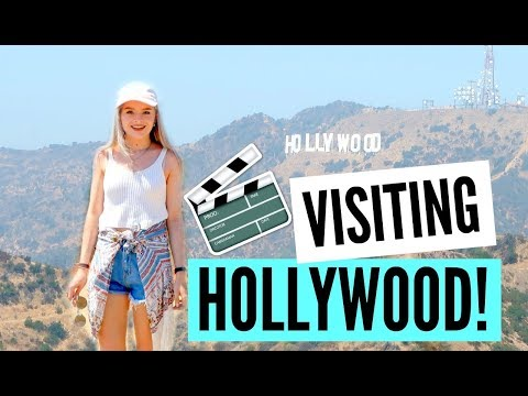 SEEING THE HOLLYWOOD SIGN IN REAL LIFE!! | sophdoesvlogs