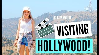 SEEING THE HOLLYWOOD SIGN IN REAL LIFE  sophdoesvlogs
