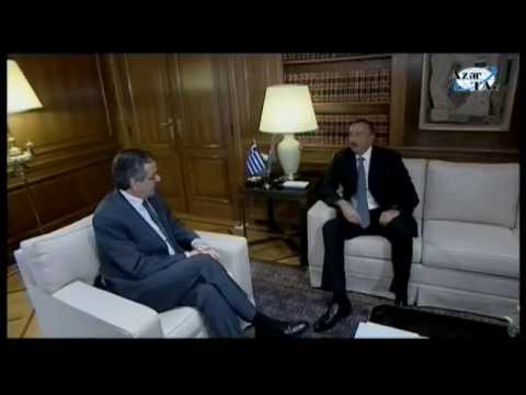 President Ilham Aliyev met with Prime Minister of Greece Antonis Samaras