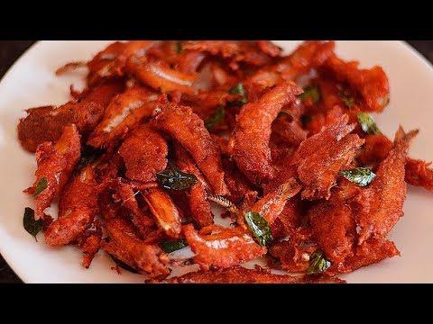 Small Nethili Fish Fry Recipe